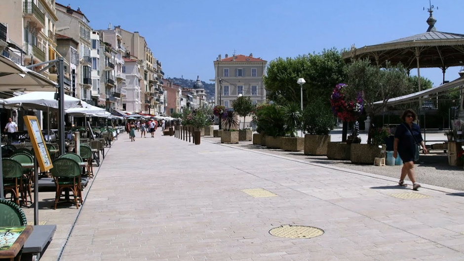 A new pedestrian street not to be missed in Cannes - Apartment Rental Cannes