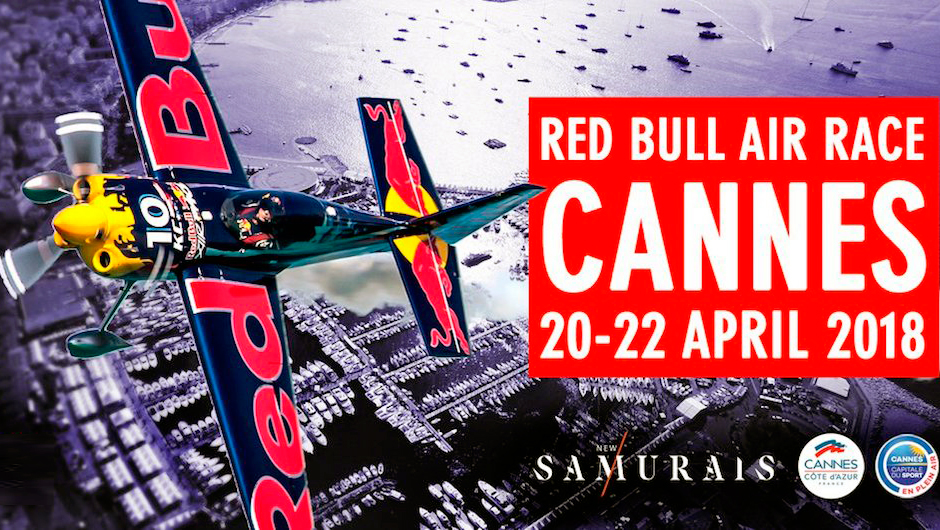 The incredible Red Bull Air Race for the first time in France, in Cannes from 20 to 22 April 2018. - Apartment Rental Cannes